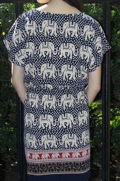 Elephant Printed Dress - main