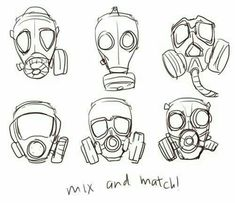 Best Cyberpunk Art Girl Gas Masks Ideas Best Cyberpunk Art Girl Gas Masks IdeasYou can find Gas masks and more on our website. Gas Mask Drawing, Gas Mask Art, Masks Art, Gas Masks, Girl Face Drawing, Girl Drawing Sketches, Girl Sketch, Drawing Reference Poses, Design Reference