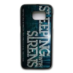 All Time Low, Sleeping Sirens Phone Cover Case For Samsung Galaxy S7 Edge Cell Phone Black CGD204039 -- Awesome products selected by Anna Churchill