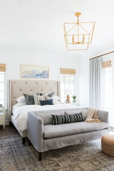 A California Cool, Laid-Back Master Suite