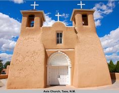 Asis Church Taos, New Mexico