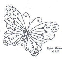 embroidery butterfly...   mariposas varias | MULTY PATRONES