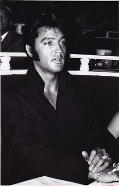 Elvis in the 1970s
