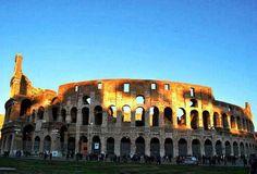 Colosseum reminds us the tyrannical past of Romans. #italy #italia #rome #europe #european #colosseum #roman #slaves #cruelty #insat #instalike #instadaily #instagram #travelgram #nature #picoftheday #photo #fotooftheday #india #cairo #egypt #mumbai #photooftheday #instagoods #bahebek by nandi_deo