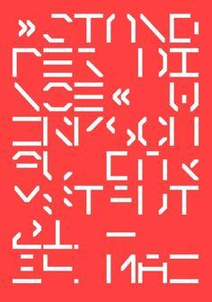 Stand der Dinge 2014 – Werkschau Fachbereich Gestaltung HS Darmstadt | Slanted - Typo Weblog und Magazin
