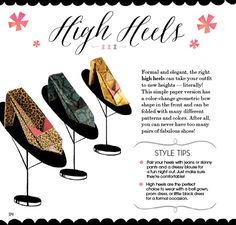 Origami High Heels from Origami Chic: A Guide to Foldable Fashion by Sok Song