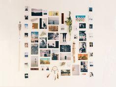 Photo wall. Home Décor Ideas & Unique Home Décor – Free People Blog | Page 5