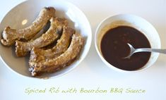 365+ Gourmet Meals on a Budget: Simple Microwave Recipe 2: Apple Spiced Honey Pork Spare Ribs with BBQ Bourbon Sauce
