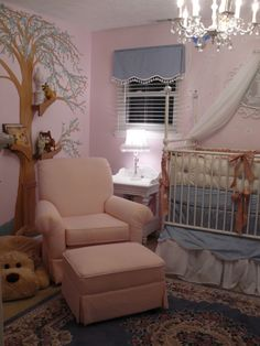 If I am ever blessed with a baby. Love this room.