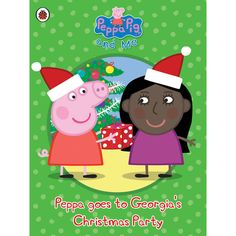Personalised Peppa Pig - Peppa goes to Your Its Christmas party time! Your child helps Mr Zebra deliver all the invitations to their Christmas party and then celebrates with Peppa and friends in this delightful personalised Christmas tale. A fu http://www.MightGet.com/january-2017-13/personalised-peppa-pig--peppa-goes-to-your.asp