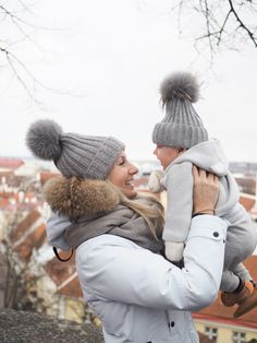 Twinning in Tallinn: pom beanie and Timberland shoes www.teljanneito.com Timberlands Shoes, My Boys, Twins, Winter Hats, Angels, Beanie, Weddings, Style, Gemini