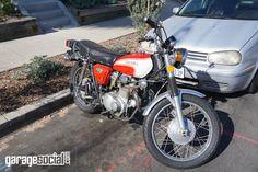 Street vibrations #Honda350 #Honda #Motorcycle #twowheel #Bikes #hondafans #Garagesocial