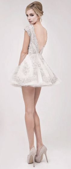 Pavoni Collection » SPRING/SUMMER 2013- Wedding Reception dress idea <3
