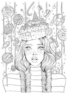 Prima Princess Sweet Tooth Stamps Included in the package is one rubber stamp that measures 5 People Coloring Pages, Coloring Pages For Grown Ups, Detailed Coloring Pages, Unicorn Coloring Pages, Printable Adult Coloring Pages, Cute Coloring Pages, Flower Coloring Pages, Disney Coloring Pages, Coloring Pages To Print