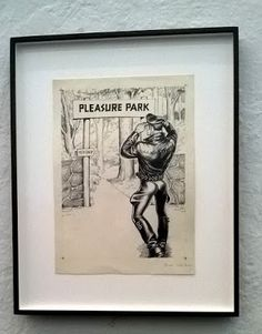 Popkulttuuria ja undergroundia: Tom of Finland in Taidehalli exhibition THE PLEASURE OF PLAY 05.05.2016 näyttelyssä Taidehallissa Tom Of Finland, Cindy Sherman, Gotham, Muse, Rainbow, Play, Frame, Art, Rain Bow