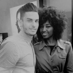 Contrast || #bwwm #wmbw Interracial couple - Google search