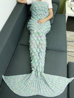 SHARE & Get it FREE | Fish Scale Knit Mermaid Throw BlanketFor Fashion Lovers only:80,000+ Items • New Arrivals Daily Join Zaful: Get YOUR $50 NOW!