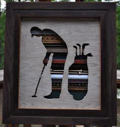 Rustic Golfer Putter Original Reclaimed by Lynnsrusticcreations, $159.00