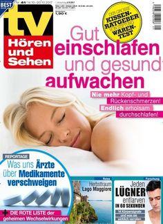 Gut #einschlafen & #gesund aufwachen: Endlich erholsam durchschlafen! 😴💤 Jetzt in TV Hören und Sehen: #schlaf #sleep