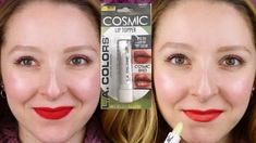 LA COLORS COSMIC LIP TOPPER REVIEW, SWATCH & TUTORIAL | DOLLAR TREE - YouTube
