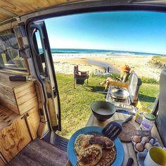Australian Van Lifer. Good for inspo in locations etc.