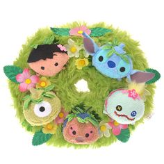 Lilo and Stitch Wreath released in Japan 25/06/2017