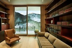Linear House by Studio B Architects  Aspen, Colorado
