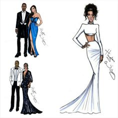 Hayden Williams impressions of celebrities at the Met Gala (Kim and Kanye, Beyonce and Jay Z & Rihanna). We love