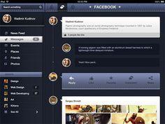 Dark Facebook UI Elements Pack - http://www.welovesolo.com/dark-facebook-ui-elements-pack/
