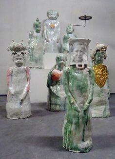 Pottery Sculpture, Sculpture Clay, Ceramic Sculptures, Ceramic Figures, Ceramic Artists, Contemporary Ceramics, Contemporary Art, Gcse Art Sketchbook, Bokashi