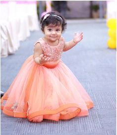 660879479 Beautiful full long dress for the cutest baby girl ..