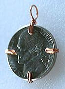 Pendants - Coin or Cabochon....how to use a wig jig to mount a coin or cab…