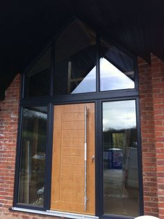 Artisan Grey on White UPVC windows, colour RAL7016 Aluminium Bi Folding Doors and a classic Irish Oak Palermo Solidor Composite Doors. Installed in Morley, Derbyshire. Telephone 01158 660066. Visit Our Website http://www.thenottinghamwindowcompany.co.uk or pop in to our West Bridgford Showroom.... #artisan #grey #white #Upvc #aluminium #Bifolding #classic #composite #Derbyshire #Notingham