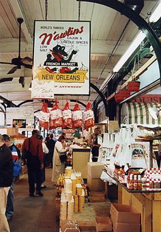 French market in New Orleans- need to fully explore this and surrounding area next time. New Orleans Vacation, New Orleans Travel, Louisiana Homes, New Orleans Louisiana, All Things New, Crescent City, French Quarter, Oh The Places You'll Go, Road Trip