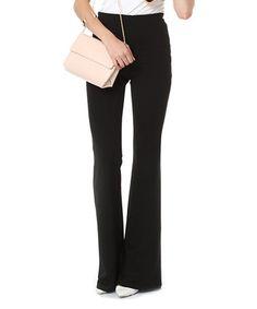 Black Flare Pants #zulily #zulilyfinds