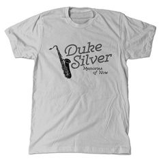 Duke Silver T-Shirt Parks And Rec Ron Swanson by TeeBerryShirts on Etsy. Haha!!