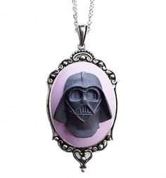 Darth Vader Cameo Necklace from Couture by Lolita