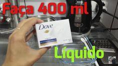 Fazendo 500ml de Sabonete Dove Líquido com R$ 2,00