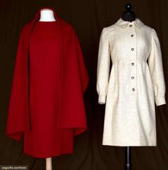 Two Geoffrey Beene Wool Dresses, 1960s, Augusta Auctions, November 10, 2010 - St. Pauls - NYC, Lot 79