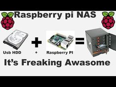 How to make NAS with RaspberryPi using OpenMediaVault - YouTube