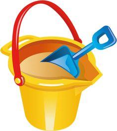 Transparent Beach Bucket and Shovel PNG Clipart Beach Sand Castles, Beach Clipart, Crown Drawing, Baby Boy Toys, Beach Bucket, Scrapbook Borders, Shovel, Toys For Boys, Paper Dolls