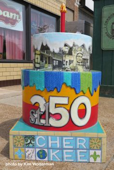 Cakeway to the West - Cherokee Business District view 1 #cakewaytothewest #stl250