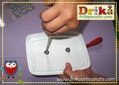 19 Passo a passo de pote de sorvete decorado Drika Artesanato