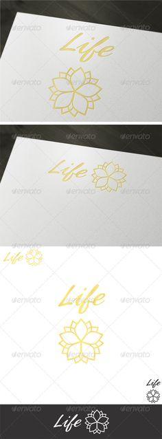 Life   Logo Design Template Vector #logotype Download it here: http://graphicriver.net/item/life-logo-template/2023917?s_rank=934?ref=nesto