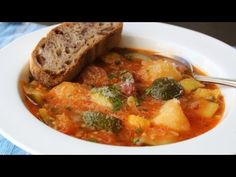 Food Wishes Video Recipes: Summer Squash & Sausage Stew – Supply and Demand.this is sooo good Dean, one of dad's favorite as it is soo easy! Just half the recipe! Watch the jalapeno! Sausage Stew, Most Delicious Recipe, Yummy Recipes, Dinner Recipes, Healthy Recipes, Stewed Potatoes, Food Wishes, Vegetable Seasoning, How To Cook Sausage