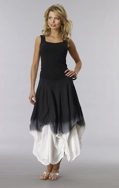 d4035ef6858 Luna Luz Garment Dyed Princess Sleeveless Top  69 FINAL SALE  58.65 Final  Sale