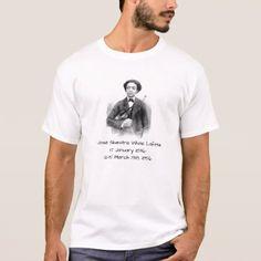 Jose Silvestre White Lafitte T-Shirt - white gifts elegant diy gift ideas