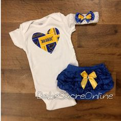 Hey, I found this really awesome Etsy listing at https://www.etsy.com/listing/206616939/st-louis-blues-outfit-and-headband