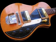 Guyatone EH-80B, EH-80H /Star EG-80H In 1958 the first Japanese electric solid body guitar to be imported to Australia was the Guy... #vintageguitars
