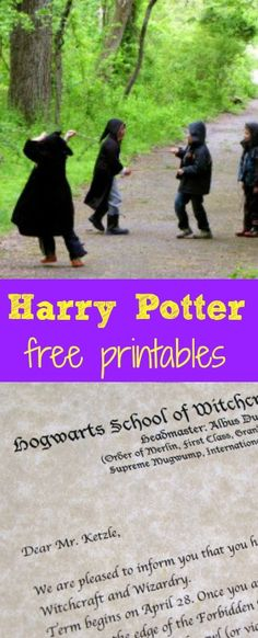 Invitations from Minerva McGonagall on Hogwarts stationary, a trip to the Forbidden Forest and Quidditch Broom Cakes made for one super fun birthday party for my eight year old, avid Harry Potter Fan. And, here's the best part– it cost about sixty dollars.  That's good news in our family, where Spring birthdays abound. Our invitations:  An acceptance letter from Hogwarts, with the Hogwarts crest at the top and signed by the deputy headmistress. You ...